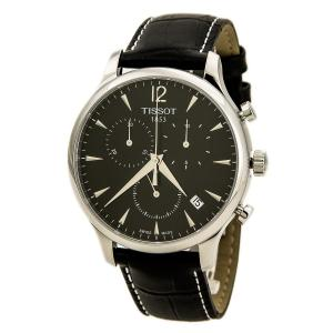 Đồng hồ Tissot Men's T063.617.16.057.00 Black Dial Tradition Watch