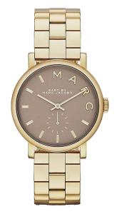 Đồng hồ Marc by March Jacobs Baker Gold Tone Grey Dial Watch