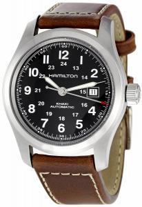 Đồng hồ Hamilton Men's H70555533 Khaki Field Black Dial Watch