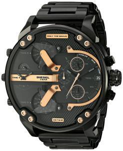 Đồng hồ Diesel Men's DZ7312 The Daddies Series Analog Display Analog Quartz Black Watch