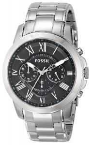 Đồng hồ Fossil Men's FS4736 Grant Stainless Steel Watch
