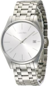 Đồng hồ Men's Calvin Klein Date Display Steel Time Watch K4N21146