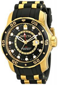 Đồng hồ Invicta Men's 6991 Pro Diver Collection GMT Black Dial Black Polyurethane Watch