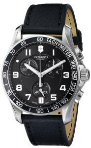 Đồng hồ Victorinox Men's 241493 Chrono Classic Analog Display Swiss Quartz Black Watch