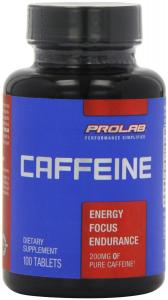 Thực phẩm dinh dưỡng ProLab Caffeine Maximum Potency 200mg Tablets, 100-Count (Pack of 3)