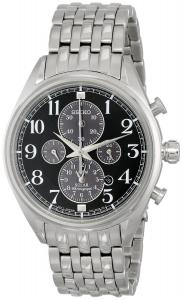 Đồng hồ Seiko Men's SSC207 Analog Display Japanese Quartz Silver Watch
