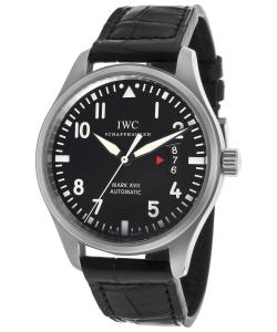 Đồng hồ IWC Pilots Mark XVII Black Alligator Mens Watch