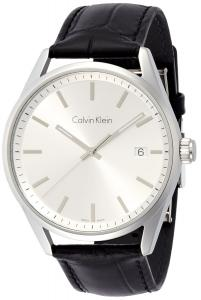 Đồng hồ Calvin Klein K4M211C6 Mens Formality Silver Black Watch