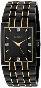 Đồng hồ Bulova Men's 98D004 Diamond Dial Watch