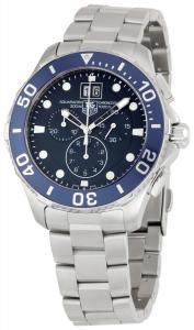 Đồng hồ TAG Heuer Men's CAN1011BA0821 Aquaracer Blue Dial Watch