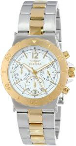 Đồng hồ Invicta Women's 14855 Specialty Chronograph 18k Gold Ion Plating and Stainless Steel Two-Tone Watch
