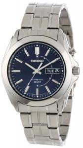 Đồng hồ Seiko Men's SMY111 Stainless Steel Kinetic Watch