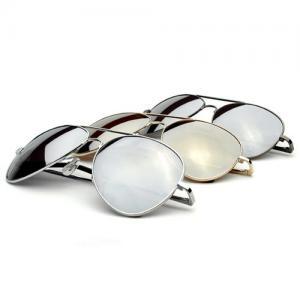 Kính mắt Premium Mirrored Aviator Top Gun Sunglasses w/ Spring Loaded Temples