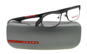 Kính mắt Prada (Linea Rossa) PS54DV Eyeglasses-1BO/1O1 Black Demi Shiny-51mm