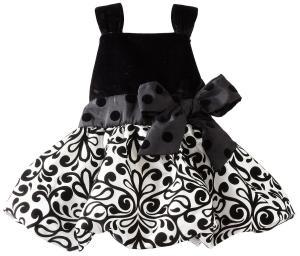 Váy Mud Pie Baby-girls Infant Damask Party Dress