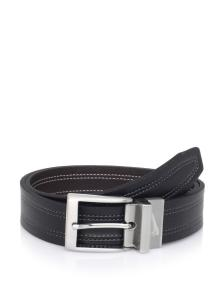 Dây lưng Nike Golf Men's Reversible Leather Belt Black Brown