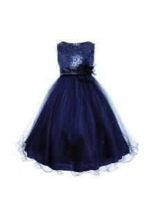 Váy Kids Dream Sequin Mesh Flower Girl Dress Infant Toddler Little Girl (2T-14)