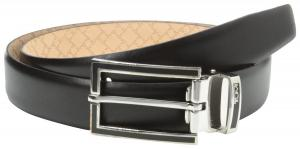 Dây lưng Tumi Men's Black Border Buckle Belt