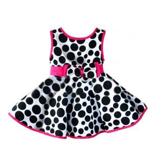 Váy Weixinbuy Kids Girls Circle Printed Sleeveless Bowknot Princess Dress