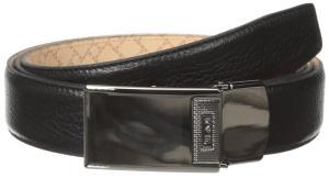 Dây lưng TUMI Men's Pebbled Leather Plaque Belt