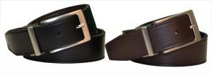 Dây lưng Nike Golf Men's Reversible Leather Belt-Black/Brown