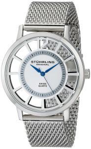 Đồng hồ Stuhrling Original Men's 388M.01 Winchester Swiss Quartz Transparent Watch