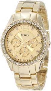 Đồng hồ XOXO Women's XO5475 Rhinestone-Accented Gold-Tone Bracelet Watch