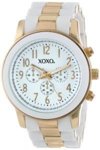 Đồng hồ XOXO Women's XO5642 Gold and White Bracelet Analog Watch