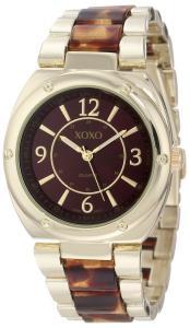 Đồng hồ XOXO Women's XO5639 Gold and Tortoise Bracelet Watch