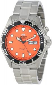Đồng hồ Orient Men's EM6500AM Ray Automatic Stainless Steel Orange Dial Watch