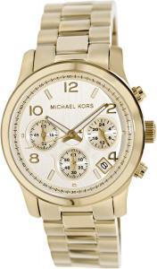 Đồng hồ Michael Kors Midsized Chronograph Gold Tone Womens Watch MK5055