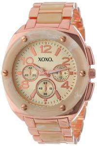 Đồng hồ XOXO Women's XO5647 Bone and Rose Gold Bracelet Analog Watch