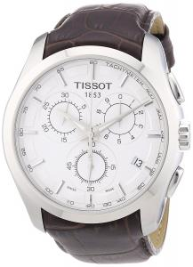 Đồng hồ Tissot Men's T0356171603100 Couturier Silver Chronograph Dial Watch