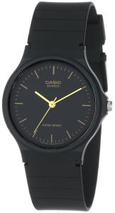Đồng hồ Casio Men's MQ24-1E Black Resin Watch