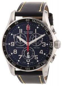 Đồng hồ Victorinox Swiss Army Men's 241444 Chron Classic Black Chronograph Dial Watch