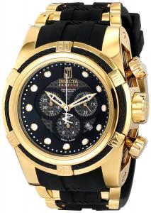 Đồng hồ Invicta Jason Taylor  Bolt Zeus Chronograph Black Carbon Fiber Dial Black Polyurethane Watch (12955)