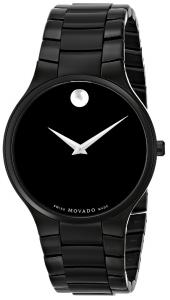 Đồng hồ Movado Men's 0606594 Serio Black PVD Watch