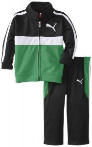 Quần áo trẻ em Puma - Kids Baby-Boys Color-Block Tricot Set