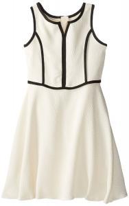 Váy trẻ em Pippa & Julie Big Girls' Pebbled Crepe Fit-and-Flare Dress