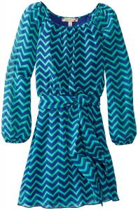 Váy trẻ em Speechless Big Girls' Chevron Chiffon Dress