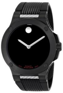 Đồng hồ Movado Men's 0606492 S.E. Extreme Black PVD Stainless Steel Case Rubber Strap Watch