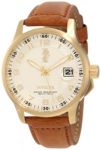 Đồng hồ Invicta Men's 12824 I-Force Cream Dial Light Brown Leather Strap Watch