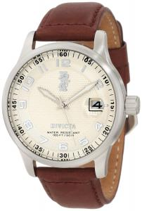 Đồng hồ Invicta Men's 12825 I-Force Beige Dial Brown Leather Watch