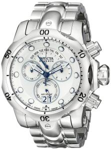 Đồng hồ Invicta Men's 1537 Reserve Venom Chronograph Silver Dial Stainless Steel Watch