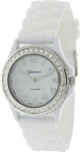 Đồng hồ Geneva Platinum CZ Accented fashion Link Watch