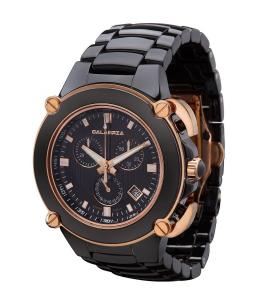 Đồng hồ CALABRIA - Sottomarino Collection - CORRENTE - Ceramic & Rose Gold Chronograph Men's Watch