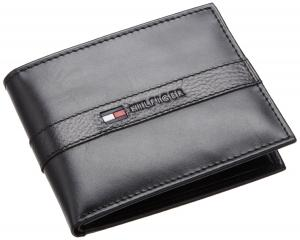 Ví nam Tommy Hilfiger Men's Ranger Passcase Wallet Brown