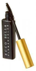 Uốn mi mắt Ecco Bella FlowerColor Mascara, Black .38 Ounce