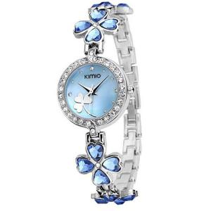 Đồng hồ Luxury Lady Kimio Watch 2013 New Gift USPS Send 3-5 Days Get K456L (Blue Color)