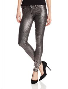 Quần PAIGE Women's Verdugo Ultra Skinny Jean In Pewter Crackle
